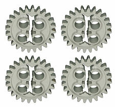 Missing Lego Brick 3648 OldGray x 4 Gear 24 Tooth Early Type