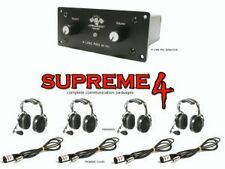 PCI Supreme 4 Package Sand Car Rugged Radios Racer X Headsets