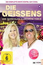 2 DVDs * DIE GEISSENS - EINE SCHRECKLICH GLAMOURÖSE FAMILIE -STAFFEL 1 # NEU OVP