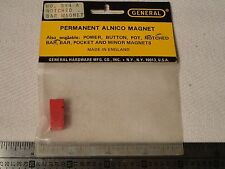 General 394-A Power Notched Bar Magnet Permanent Alnico Retro Vintage new