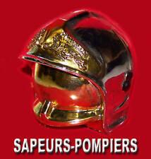 Casque F1 SAPEURS POMPIERS 9cm de haut Soldat du Feu