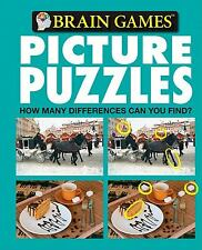 Brain Games Picture Puzzles: How Many Differences Can You Find? No. 6 Editors of