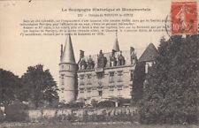 MARTIGNY-LE-COMTE 200 château timbrée 1913