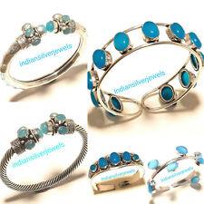 5pcs Bracelets Handmade Bracelet Chalcedony Cuff Bangel Fashion Bracelet