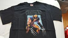 T-SHIRTS MARVEL COMICS Wolverine SHOT BLACK Adult Unisex size M