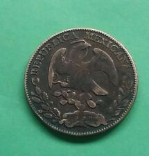 Mexico 1875 Zs JA 8 Reales Silver better mintmark