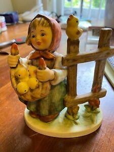 estate hummel-chicken licken-#385 figurine