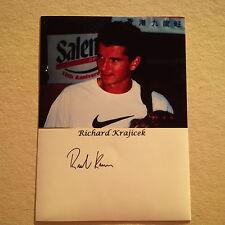 RICHARD KRAJICEK (NLD) TENNIS Wimbledon Sieger 1996 signed Photo 10x14 Autogramm