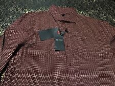 Armani Jeans Button Front Shirt XLarge  Custom Fit $ 175