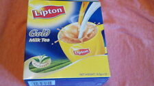 one box Lipton gold instant 3 in 1 milk tea powder (20 pcs)