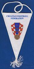HNS, CROATIAN FOOTBALL FEDERATION - Hrvatski nogometni savez, old vintage flag !