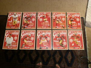 49ERS GAMEDAY 2013 PROGRAMS LAST YEAR AT CANDLESTICK PARK TAKE YOUR PICK!