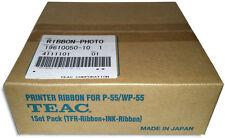 TEAC P-55 =4-Color CMYK= Photo Ribbon & Transfer Ribbon Set (19610050-10)