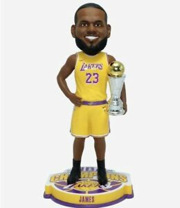 2020 LeBron James MVP Bobblehead NBA Champion Los Angeles Lakers Finals LA