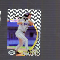 Todd Helton 1998 Topps Tek Colorado Rockies Card 69 Pattern 77