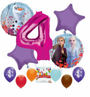 Frozen 2 Party Supplies Birthday Balloon Decoration for 4th Birthday