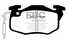 EBC Greenstuff Front Brake Pads for Renault 11 1.4 (84 > 86)