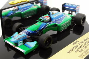 Onyx 1/43 Scale 186B - F1 Benetton Ford B193B Test Car 1994 - J.Verstappen