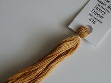 Over-dyed embroidery floss,  Honey Dipper,  DMC 436 20yards