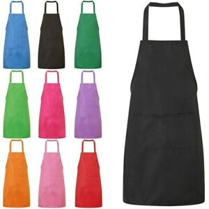 Teenagers Adults Craft Aprons Children Painting Crafts with 2 Pockets 9 Colours