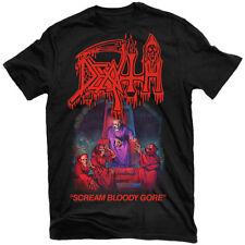La MORTE Scream BLOODY Gore T-shirt Nuove! Relapse Records TS4253