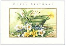 Happy Birthday Friend Yellow White Daffodils Marjolein Bastin Hallmark Card