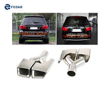 Fits Mercedes-Benz W164 ML/X164 GL Class AMG Style Exhaust Muffler Tip Tail Pipe