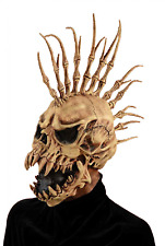 Halloween Costume Adult Mask Men's Sinister Fin Skull Scary Spooky Horror Look