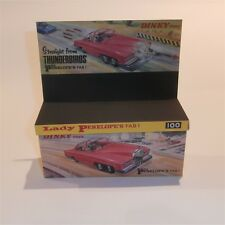 Dinky Toys 100 Thunderbirds Lady Penelope Rolls Royce FAB1 empty Repro Box Only