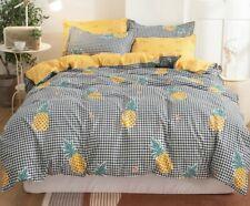 New pineapple 4pcs bedding set Duvet/quilt pillowcase cover queen set