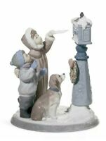 RETIRED LLADRO VINTAGE 1990 HOLIDAY WISHES 01008010 SPAIN FIGURINE CHRISTMAS NEW