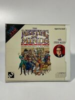 USED VINTAGE RADIO SHACK TANDY PC GAME VIS The Meeting Of The Minds