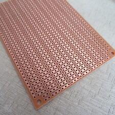 5x pcb 7x10cm 3er Streifenraster Punkt- Lochraster Platine Leiterplatte circuit