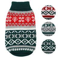 Hundepullover Weihnachten Pullover Pulli Strickpullover für Kleine Hunde/Katzen