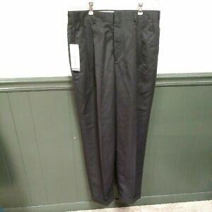 """John Henry Men's Black Dress Pleated Pant Size 34"""" X 32"""""""
