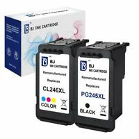 BJ PG-245XL & CL-246 XL Black & Color Ink Cartridge for Canon Pixma MG2522