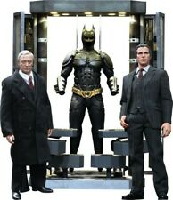 Batman Armory with Bruce Wayne and Alfred Hot Toys 1:6 Scale FigureNIB Sealed