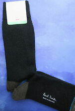 Paul Smith Mens Wool Nylon English Socks Black K127 M-d-Thickness One Size