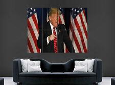DONALD Trump USA Presidente poster immagine Giant Wall Art politica