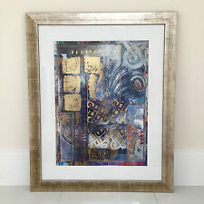 Abstract Art - Framed - 115 x 95 cm - Large