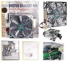 "120mm Video/Graphics Card Cooler,Ball Bearing 5/4.75""Case/Box 12V Fan+Bracket$SH"