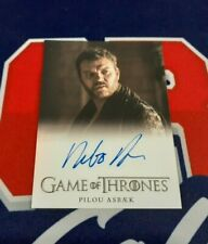 2020 The Complete Game of Thrones Pilou Asbaek FB Autograph