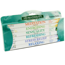 STAMFORD AROMATHERAPY INCENSE STICKS PACK OF 6 (EACH 8 STICKS) - 371471