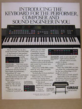 1988 Yamaha DSR-2000 Keyboard Synthesizer Synth photo vintage print Ad