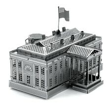 Fascinations Metal Earth 3D Laser Cut Steel Model Kit US The White House USA