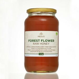 Runny Forest flower Honey 1.4kg ORGANIC PURE RAW NATURAL Unpasteurized Wild