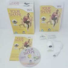 Your Shape Wii +Motion tracking camera for home exercise work out keep fit