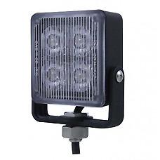 12V/24V 4 LED AMBER STROBE/HAZARD/WARNING LAMP/LIGHT RECOVERY HGV