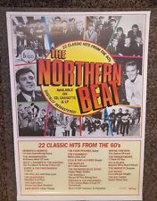 THE NORTHERN BEAT - Compilation Album Promotional Poster *RARE*