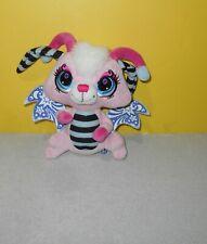 "8"" Littlest Pet Shop Moonlite Fairies Plush Stuffed Animal LPS Hasbro Pink"